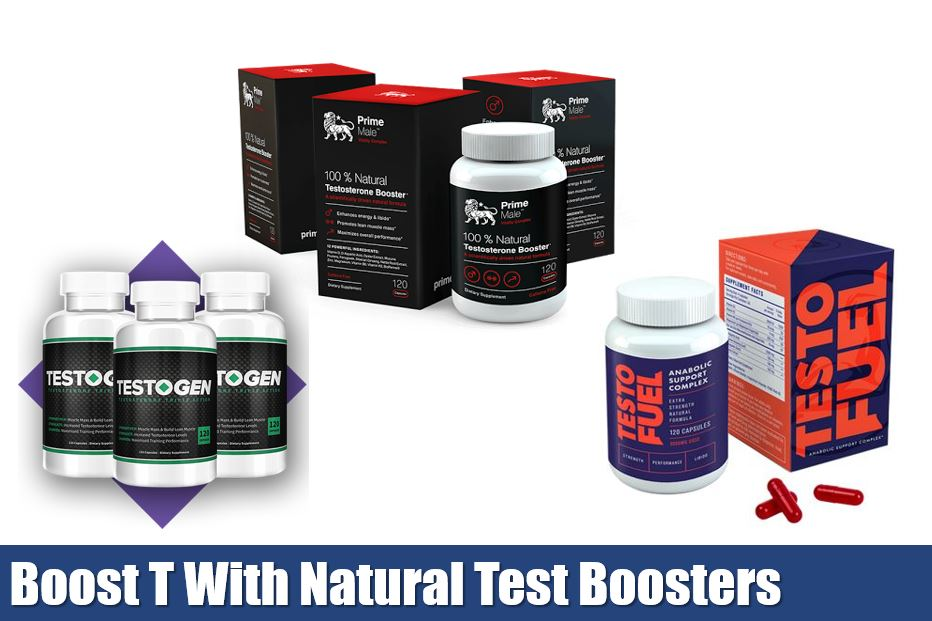 boost testosterone naturally with testosterone booster supplements