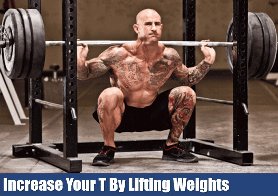 increase testosterone with weightlifting