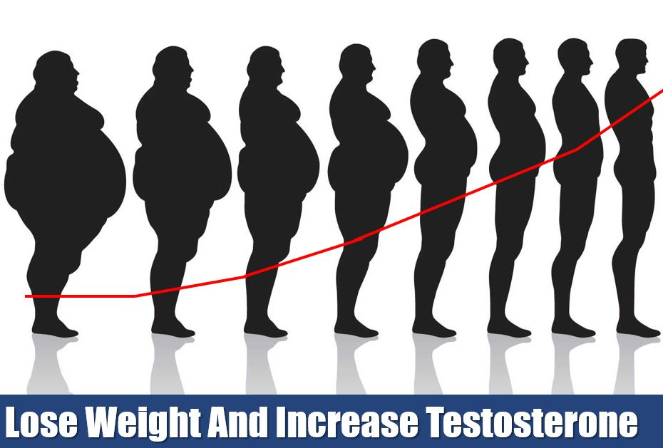 lose weight to increase your testosterone